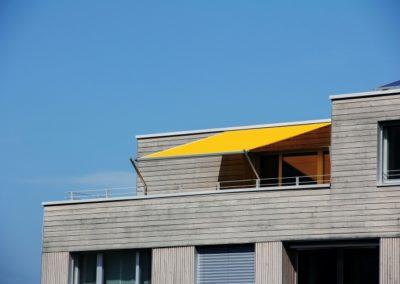 SHADE INOX Beschattung Dachterrasse